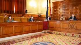 Pleno de la Diputación de Toledo.
