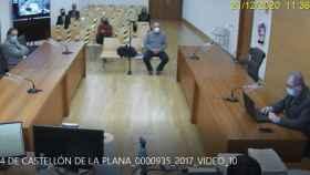 Miguel Carot, exgerente del PP de Castellón, en su declaración ante el juez Jacobo Pin. EE