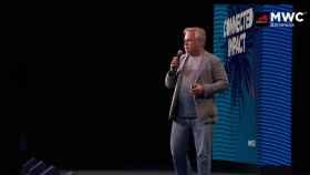 Eugene Kaspersky, CEO de Kaspersky, realizó su intervención en el MWC 2021 de manera presencial.