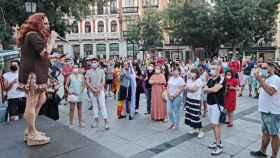 Pregón de La Prohíbida este lunes en la plaza de Zocodover de Toledo