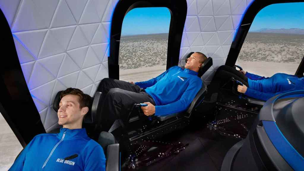 Así viajarán los astronautas en la New Sephard