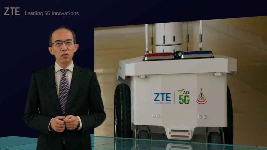 Xu Ziyang, CEO de ZTE.