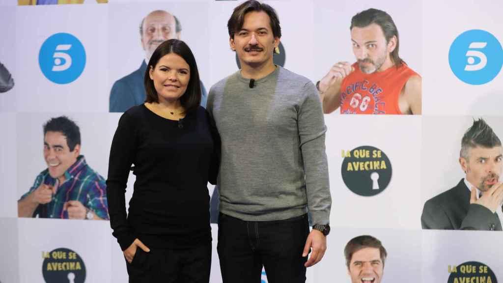 Alberto y Laura Caballero, creadores de 'La que se avecina' y sobrinos del empresario teatral.