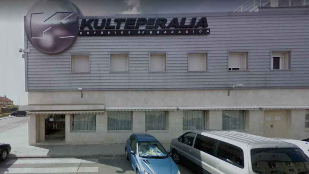 Los estudios de televisión de Kulteperalia SL en Moraleja de Enmedio (Madrid)