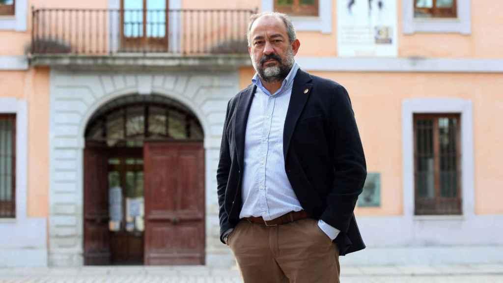 Julian Garde, rector de la UCLM / Ó. HUERTAS