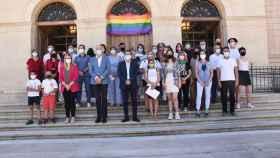Acto institucional del Día del Orgullo LGTBI+ organizado por la Diputación de Cuenca