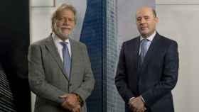 Luis Amodio, izquierda, y José Antonio Fernández Gallar.