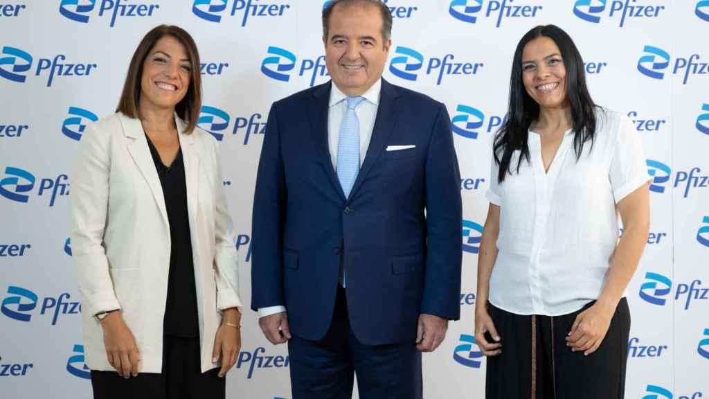 Nadia Rodríguez, Sergio Rodríguez y Ana Maqueda.
