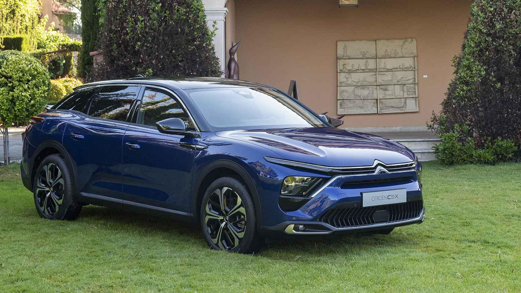 Nuevo Citroën C5 X: galería de fotos de esta nueva berlina que llega en 2022