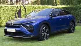 Unidad del nuevo Citroën C5 X presentada en Madrid.