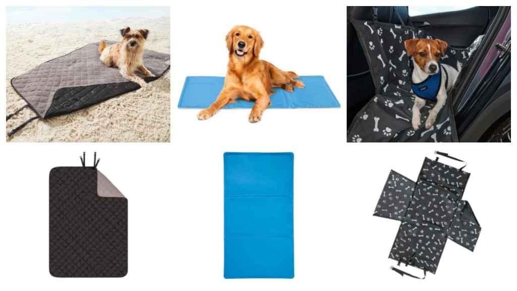 Alfrombrilla, manta y cubreasientos para perros de Lidl