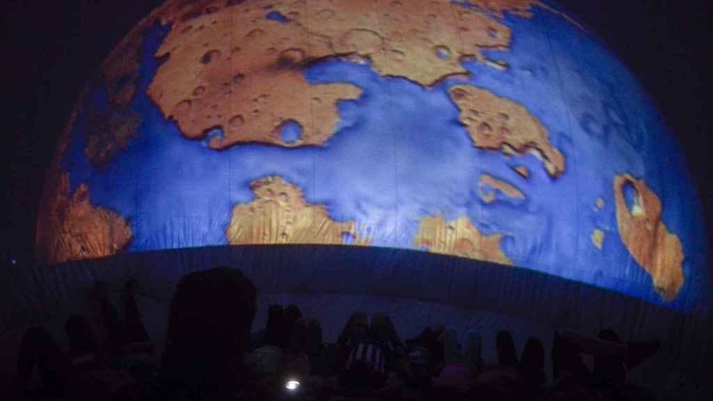 Planetario de AstroYebes. Foto: Ayuntamiento de Yebes (Guadalajara)