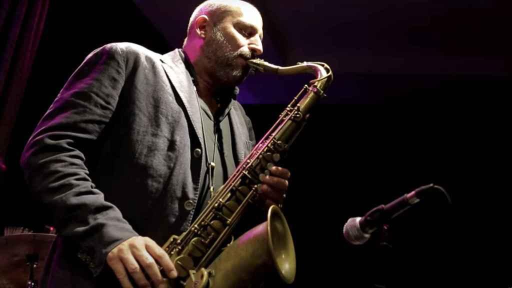 Bob Sands durante una actuación en Madrid