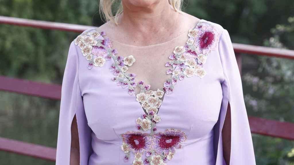 Carmen Borrego, en una imagen del verano de 2019.