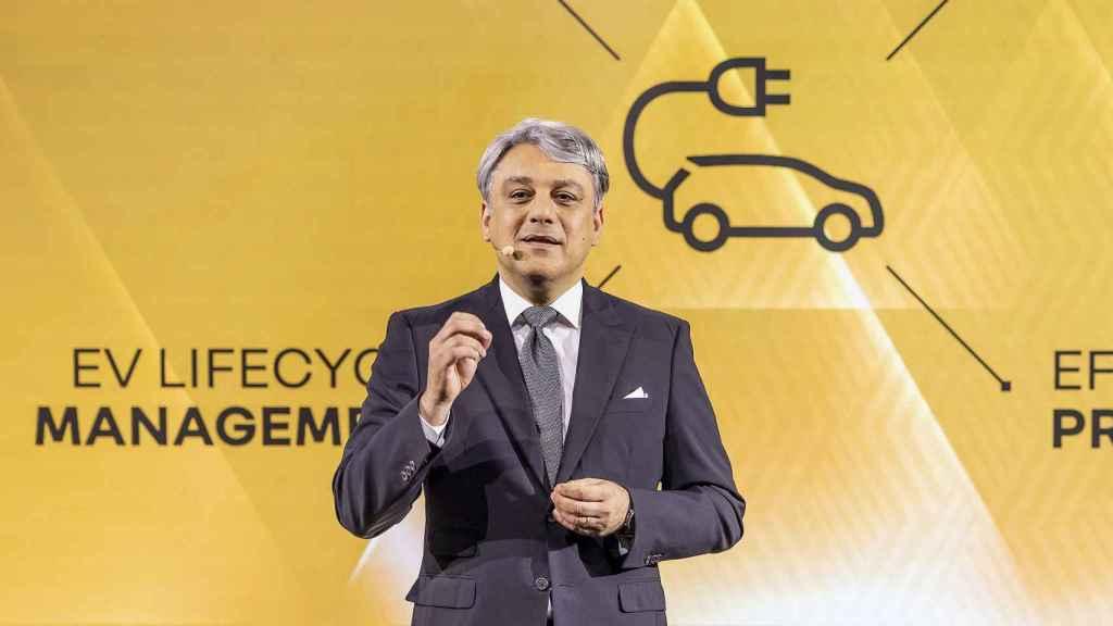 Luca de Meo, nuevo presidente del Grupo Renault.