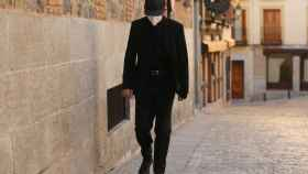 Imagen del acusado llegando a la Audiencia de Toledo.
