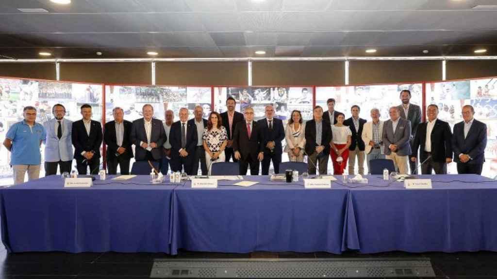 La Junta de Federaciones Olímpicas después de aprobar el Equipo Olímpico Español para Tokio 2020