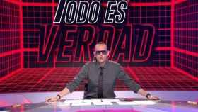 Risto Mejide presenta 'Todo es verdad' en el prime time de Cuatro.