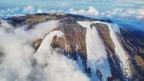 Cima del Kilimanjaro, en Tanzania.