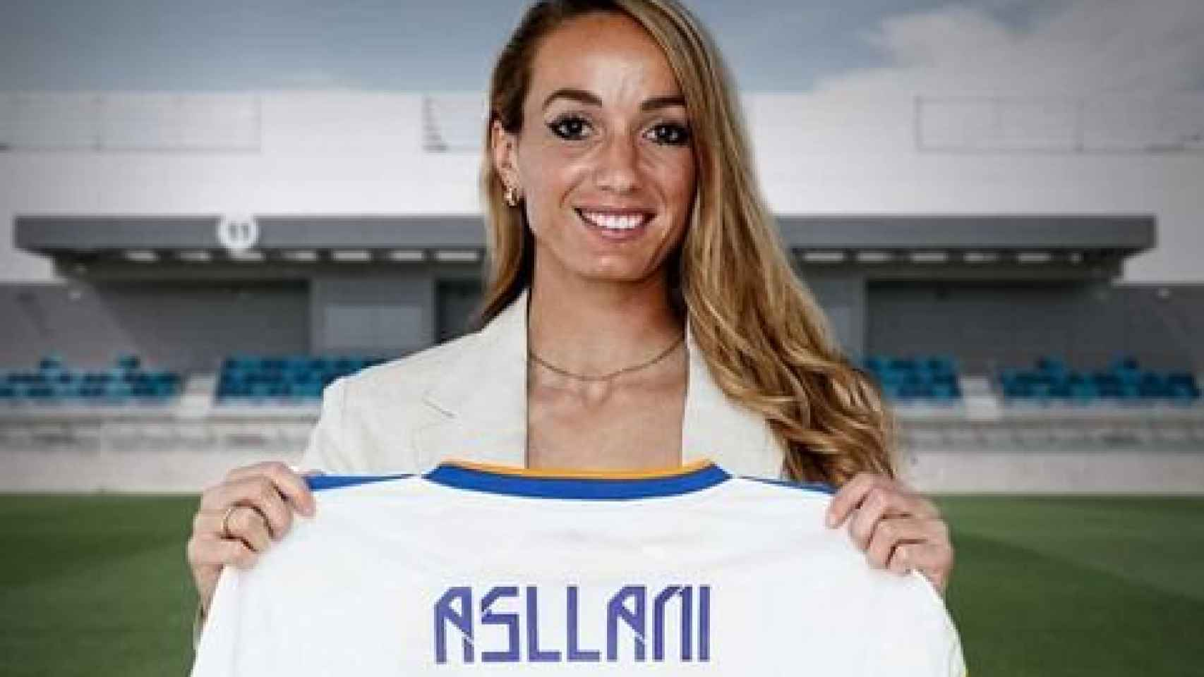 Kosovare Asllani renueva con el Real Madrid Femenino