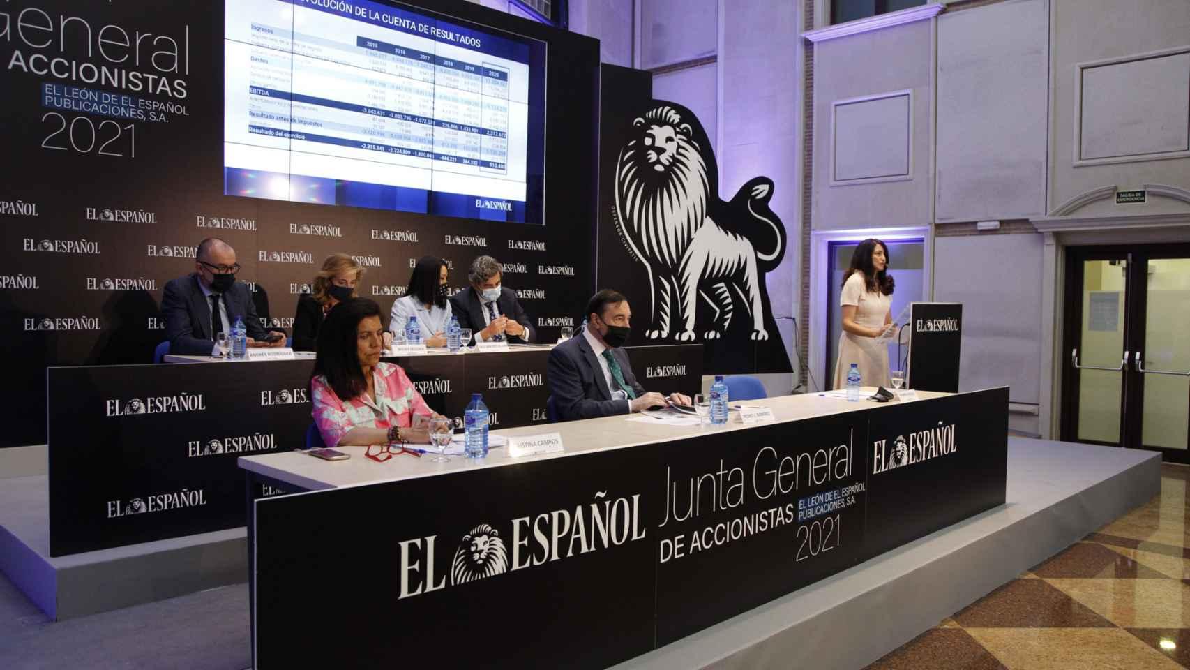 Intervención de la directora general de EL ESPAÑOL, Mamen Vázquez.