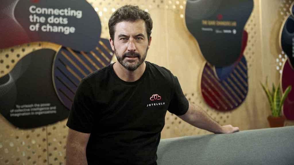 David Amorín es el CEO de la startup Jotelulu.