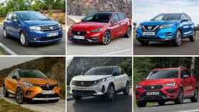Imagen de algunos de los coches más vendidos.