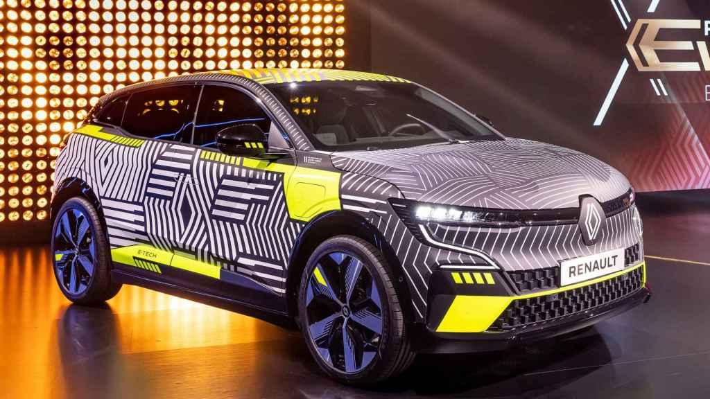 El próximo Renault Mégane será 100% eléctrico.
