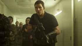 Chris Pratt protagoniza la película de Amazon 'La Guerra del Mañana'.