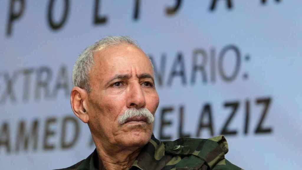 El secretario general del Frente Polisario, Brahim Ghali.