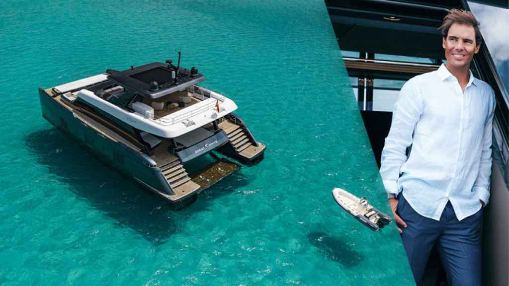 Great White, el catamarán de Rafa Nadal