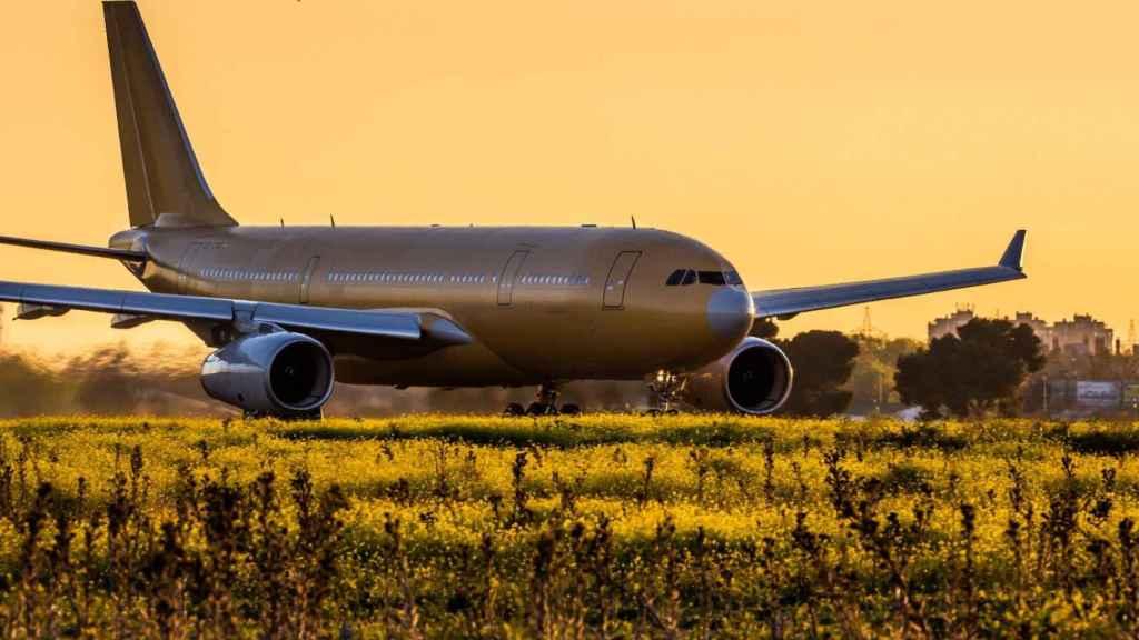 A330 MRTT despegando desde Getafe