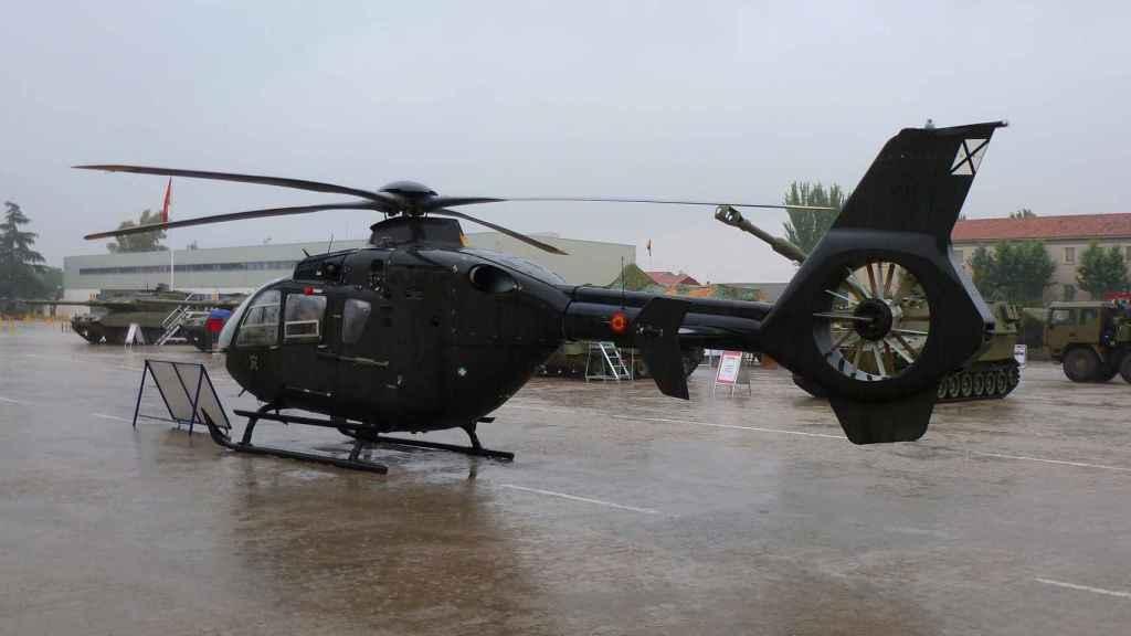 H135 del Ejército de Tierra de España