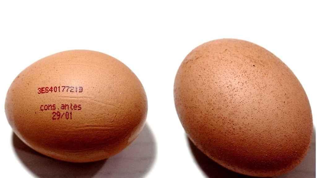 Un par de huevos.