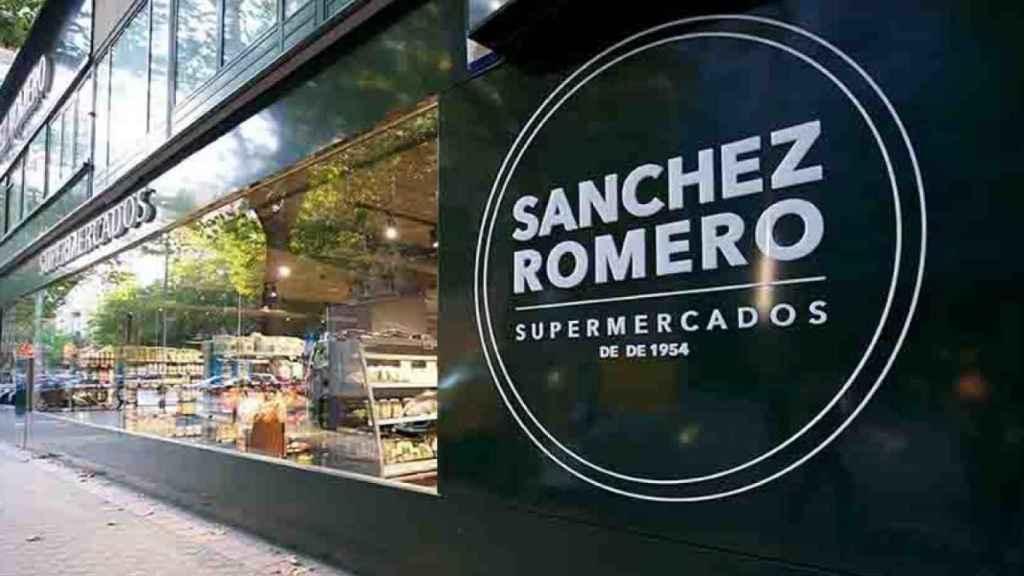 Fachada de Sánchez Romero en el Paseo de la Castellana.