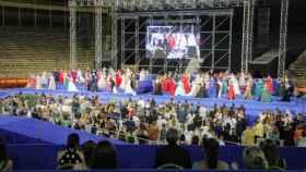 La gala de candidatas a Bellea del Foc es uno de los momentos que recibe más críticas por parte de las jóvenes.