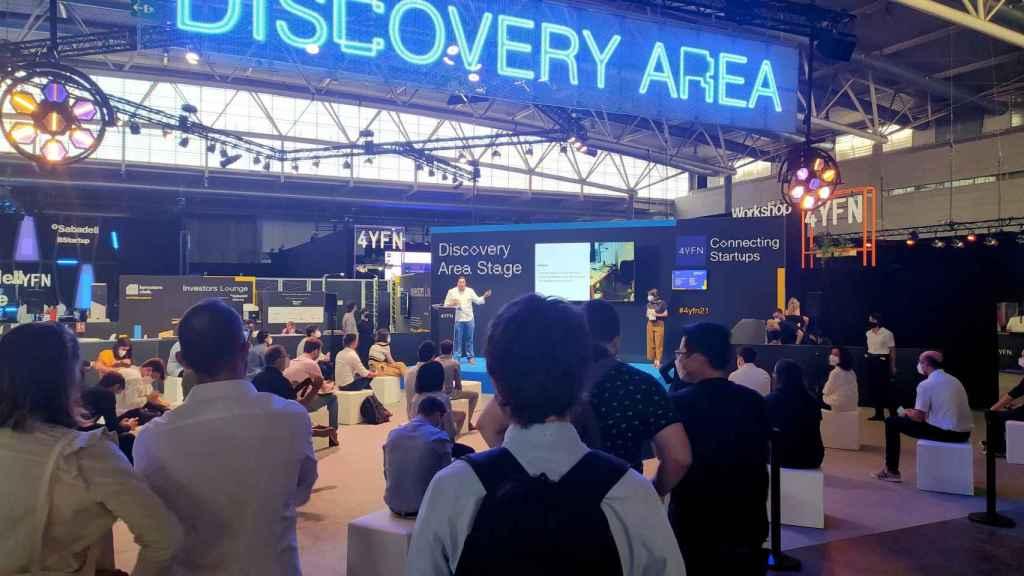 Discovery area en el 4YFN del MWC