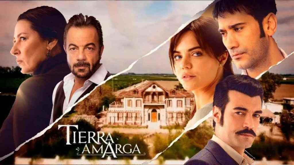 Movimiento sorpresa: Antena 3 estrenará 'Tierra amarga' el domingo como telonera de 'Mi hija'