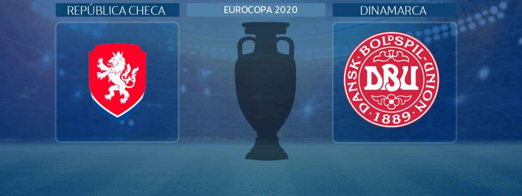 República Checa - Dinamarca, partido de la Eurocopa 2020