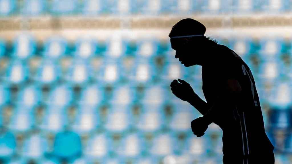 Erling Haaland, durante un partido con la selección de Noruega