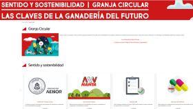 Nanta presenta la web de Granja Circular