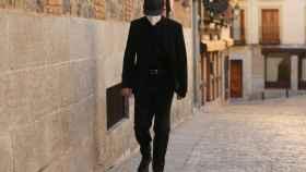 El acusado a su llegada a la Audiencia de Toledo. Foto de Isabel Infantes para EP.