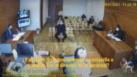 Uno de los exescoltas de Carlos Fabra declara ante el juez Jacobo Pin. EE