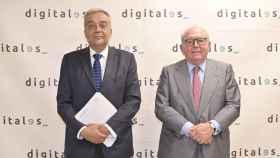 Víctor Calvo-Sotelo y Eduardo Serra, director general y presidente de DigitalES