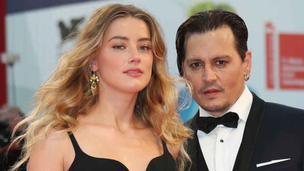 Amber Heard and Johnny Depp, in 2016, when their relationship seemed idyllic.