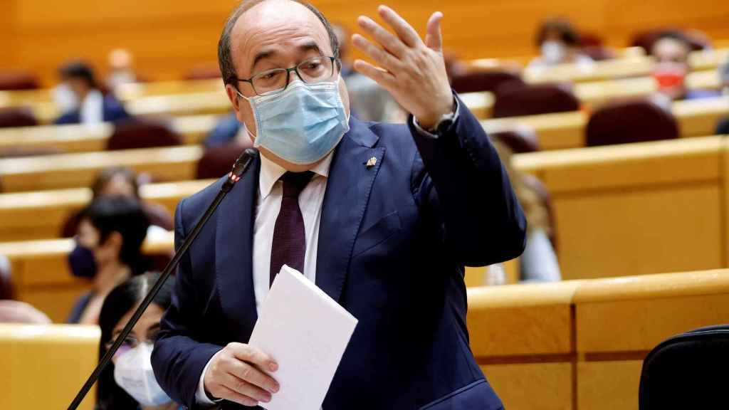 Miquel Iceta, ministro de Política Territorial.