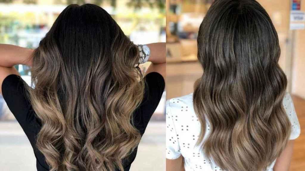 Mechas en mujeres morenas: la moda más demandada en las peluquerías.
