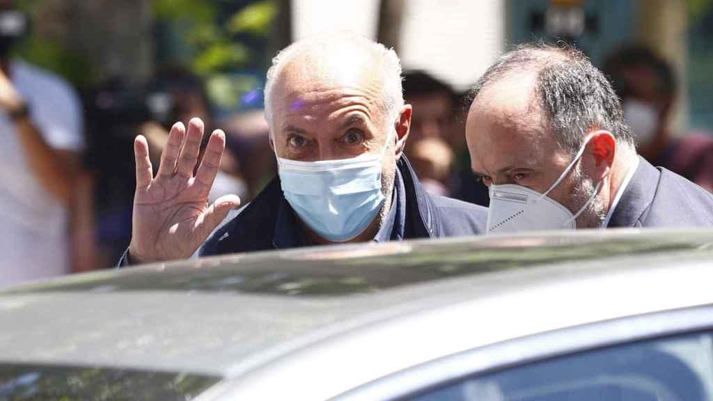 José Luis Moreno en una imagen tomada este pasado 1 de julio tras su detención.