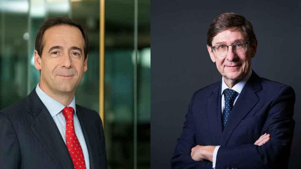 Gonzalo Gortázar y José Ignacio Goirigolzarri.