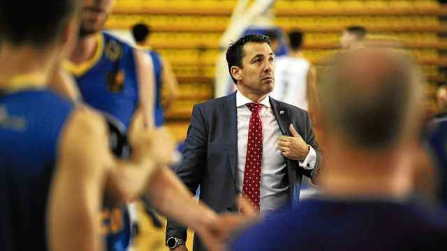 Gonzalo García de Vitoria , nuevo entrenador del HLA Alicante.